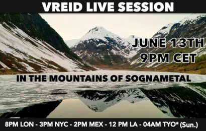 «In the mountains of Sognametal» live session de VREID (NOR) en streaming