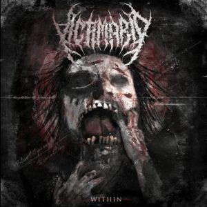 """Portada del álbum """"Within"""" de Victimario."""