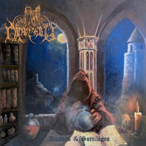 """Portada del álbum """"Arcanes & Sortilèges"""" de Darkenhöld."""