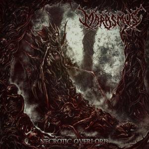 Portada del álbum Necrotic Overlord de Marasmus