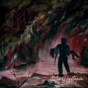 Portada del álbum My Dystopia de Mortyfear