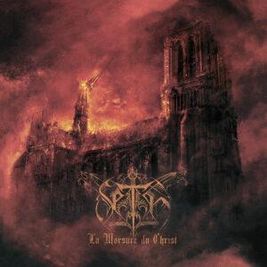 """Portada del álbum """"La Morsure du Christ"""" de Seth."""